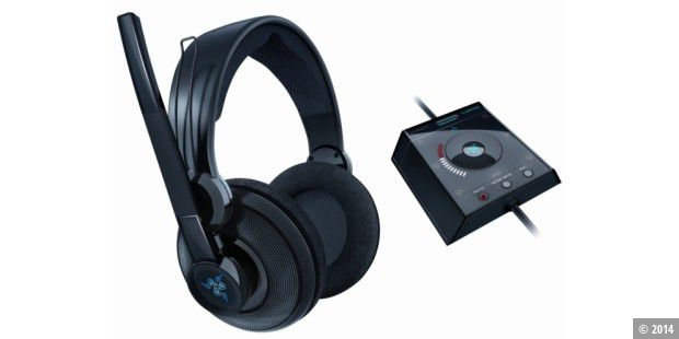 Surround-Headset im Test: Razer Megalodon.