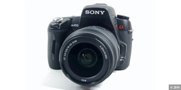 Sony Alpha A450 im Test
