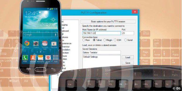 Echte Tastatur für Android-Smartphones nutzen - PC-WELT