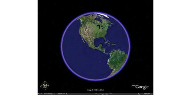 Platz 40: Google Earth