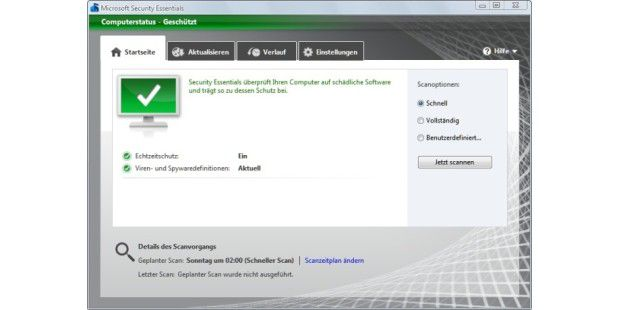 Microsoft Security Essentials 2.1