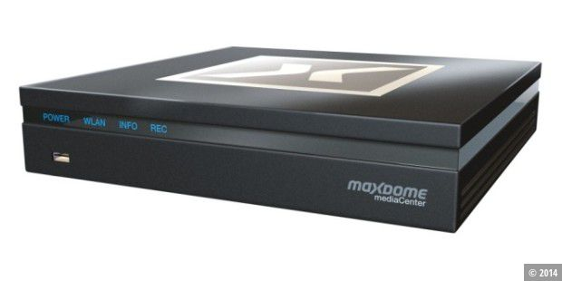 Maxdome mediaCenter TV