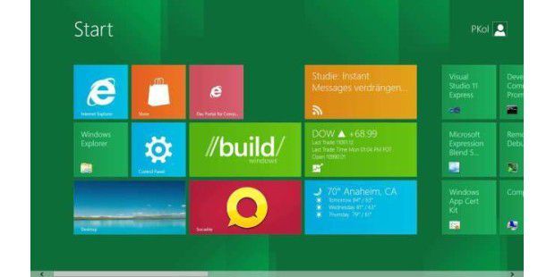 Microsoft Windows Developer 8 Preview