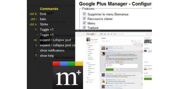Google+ Manager
