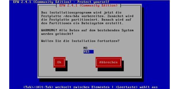 Endian Firewall - Datenverlust droht!