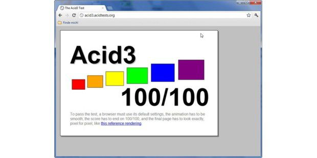 Chrome Acid3