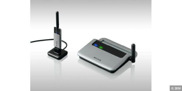 Wireless-USB-Hub von Belkin