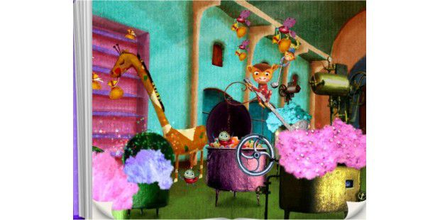 "TouchyBook ""The Candy Factory"""