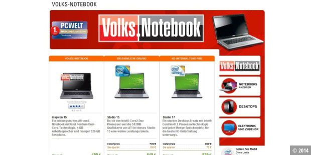 Volks-Notebook für 528 Euro