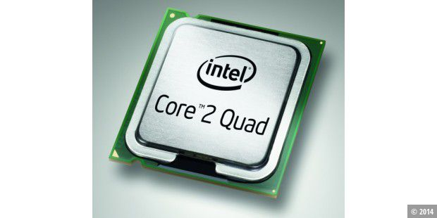 Intel Core 2 Quad Q9300 im CPU-Test