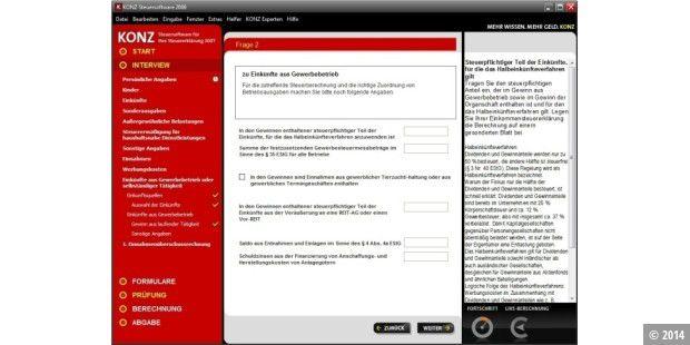steuersoftware 2008