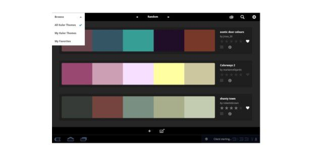 Adobe Kuler App