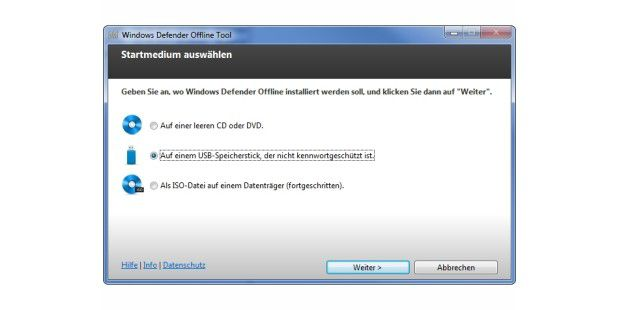 Windows Defender Offline (WDO)