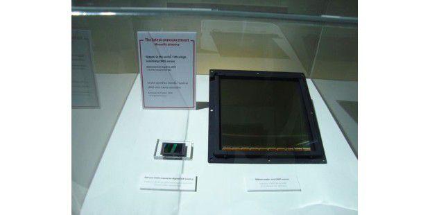 Der derzeit größte CMOS-Sensor der Welt