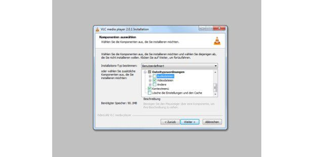 Den VLC-Player Installieren