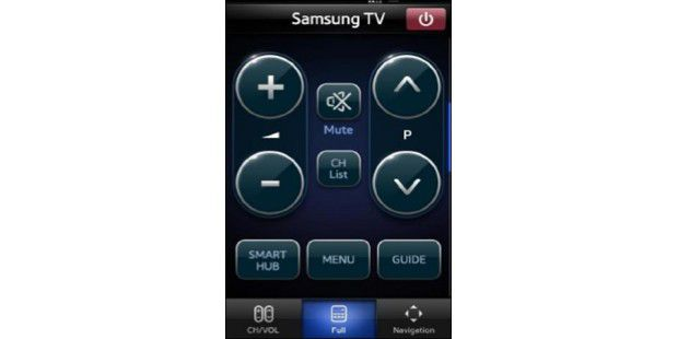 Android-App: Samsung Remote