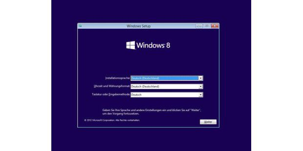 Windows 8 Pro (RTM) deutsch