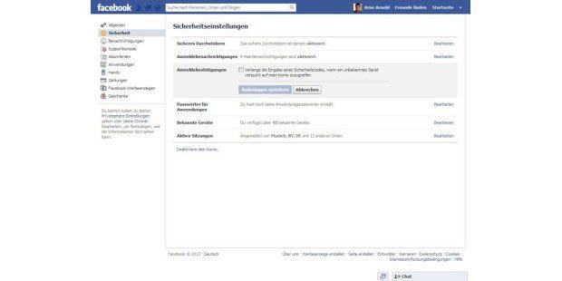 Das Facebook-Konto besonders gut schützen