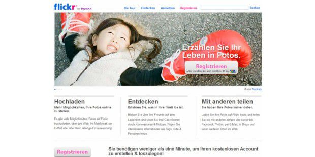 Ein Pro-Account bei Flickr