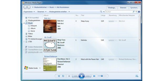 media player 12.7 per windows 8