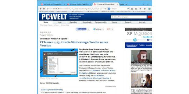 Firefox 29: Tabs in neuer Optik