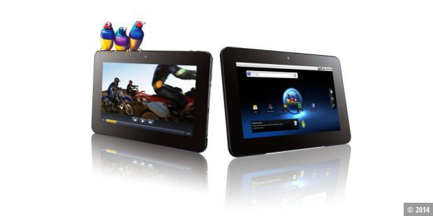 Android-Tablet mit Version 2.2: Viewsonic Viewpad 10S