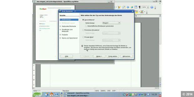 Quicktipp Openoffice Brief Erstellen Mit Assistenten Pc Welt