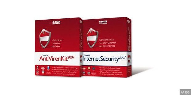 G Data Anti Viren Kit und Internet Security 2007