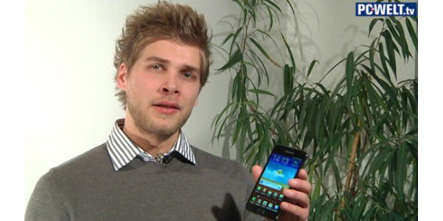 Samsung Galaxy Note im Video vorgestellt