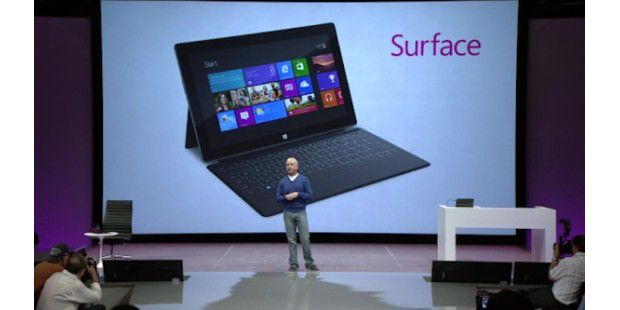Microsoft Surface - Highlights der Tablet-Präsentation