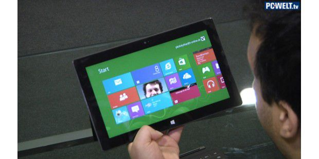 "Microsoft Surface RT - Unboxing & erster Eindruck (""Hands-on"")"
