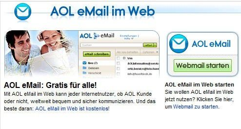 kostenloses aol mail
