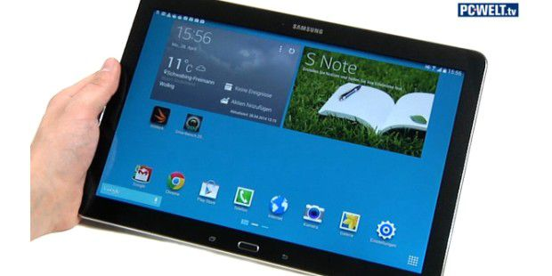 Samsung Galaxy Note Pro 12.2 im Test-Video
