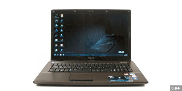 17-Zoll-Notebook mit Core i3 im Test: Asus X72JR
