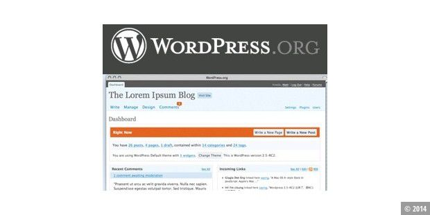 Wordpress 2.5