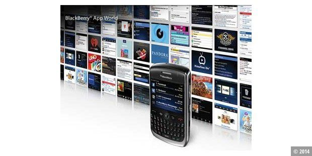 Blackberry App World gestartet