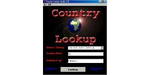 Country Lookup 2.0