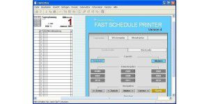 Fast Schedule Printer PE