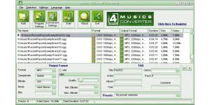 OGG to MP3 Converter