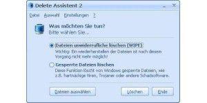 Delete Assistent
