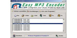 Easy MP3 Encoder