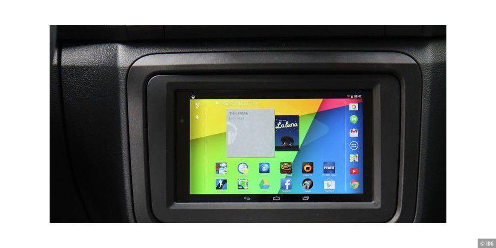 Tablet-PC Nexus 7 ins Auto einbauen und integrieren - PC-WELT