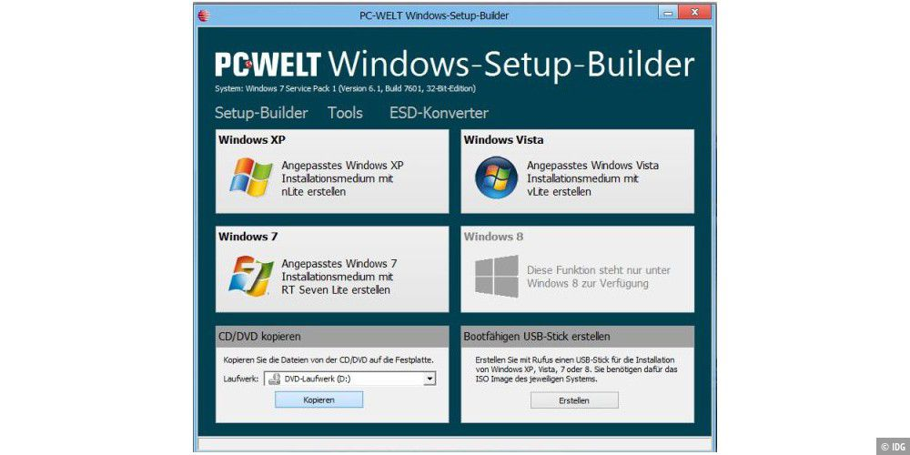 PC-WELT Windows-Setup-Builder - PC-WELT