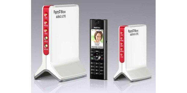 Die neuen LTE-Modems von AVM.