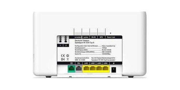 speedport router der telekom mit wlan l cke pc welt. Black Bedroom Furniture Sets. Home Design Ideas