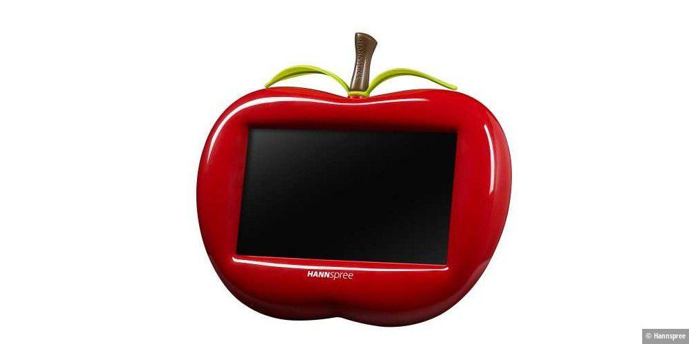 Digitaler Bilderrahmen im Apfel-Design - PC-WELT