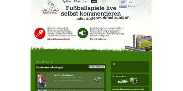 Pfiffige Idee: Marcel-ist-reif.de