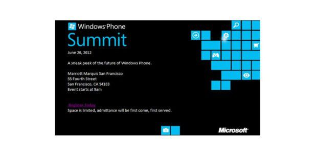 Microsoft lädt zum Windows Phone Summit ein