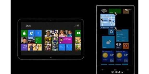 Windows Phone 8: Der neue Kachelbildschirm