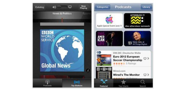 Neue Apple-App: Podcasts